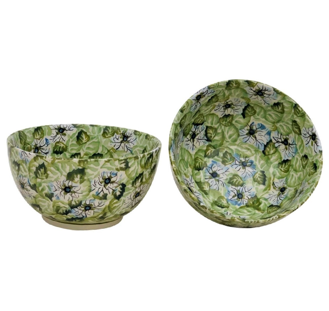 Pottery Avenue2-Cup Stoneware Cereal-Salad Bowl - 971-334AR Heavenly