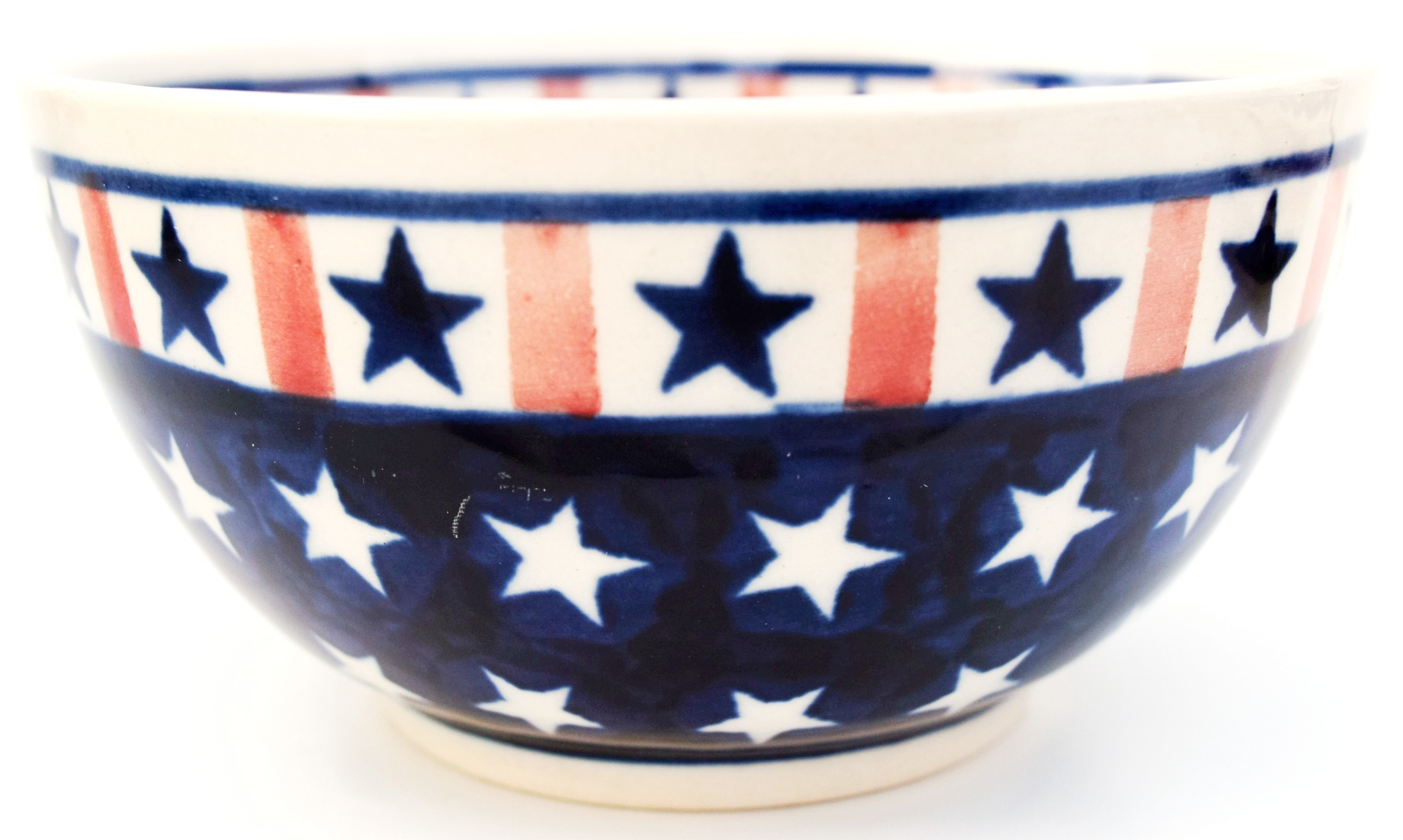 Polish Pottery 2 cup AMERICANA Cereal Bowl | CLASSIC