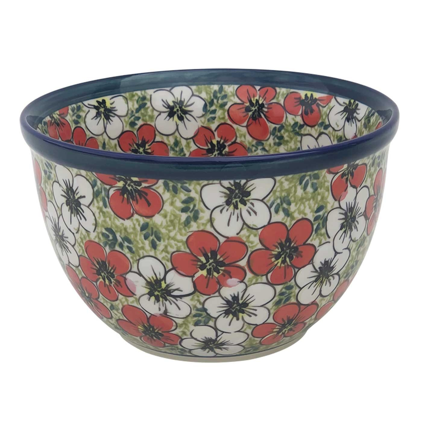 Pottery Avenue 4-Cup Stoneware Mixing Bowl - 984-331AR Red Bacopa