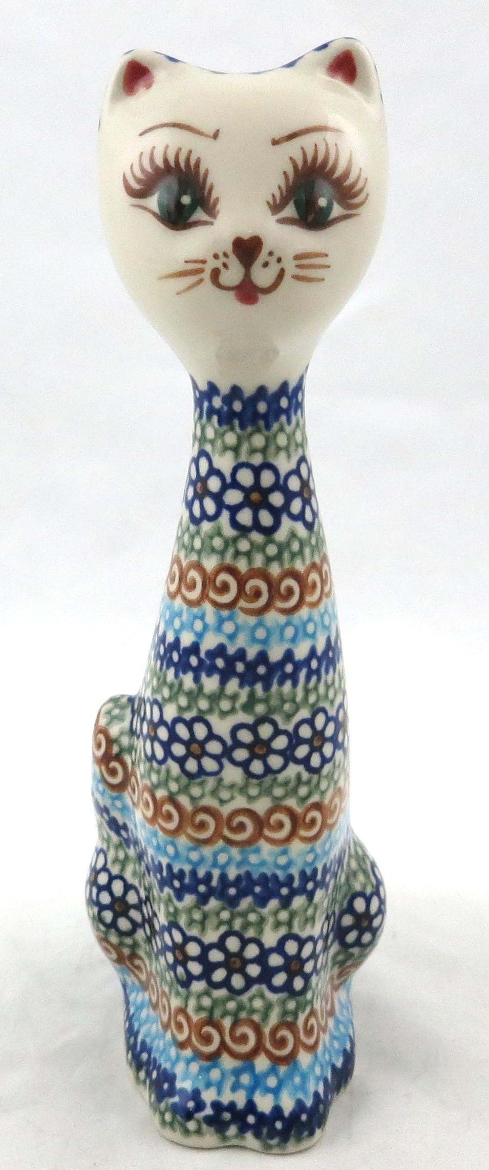 Pottery Avenue Cat Figurine | VENA UNIKAT