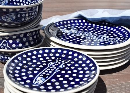 Fish 18-pc Dinner Set ONE SET REMAINING | CLASSIC