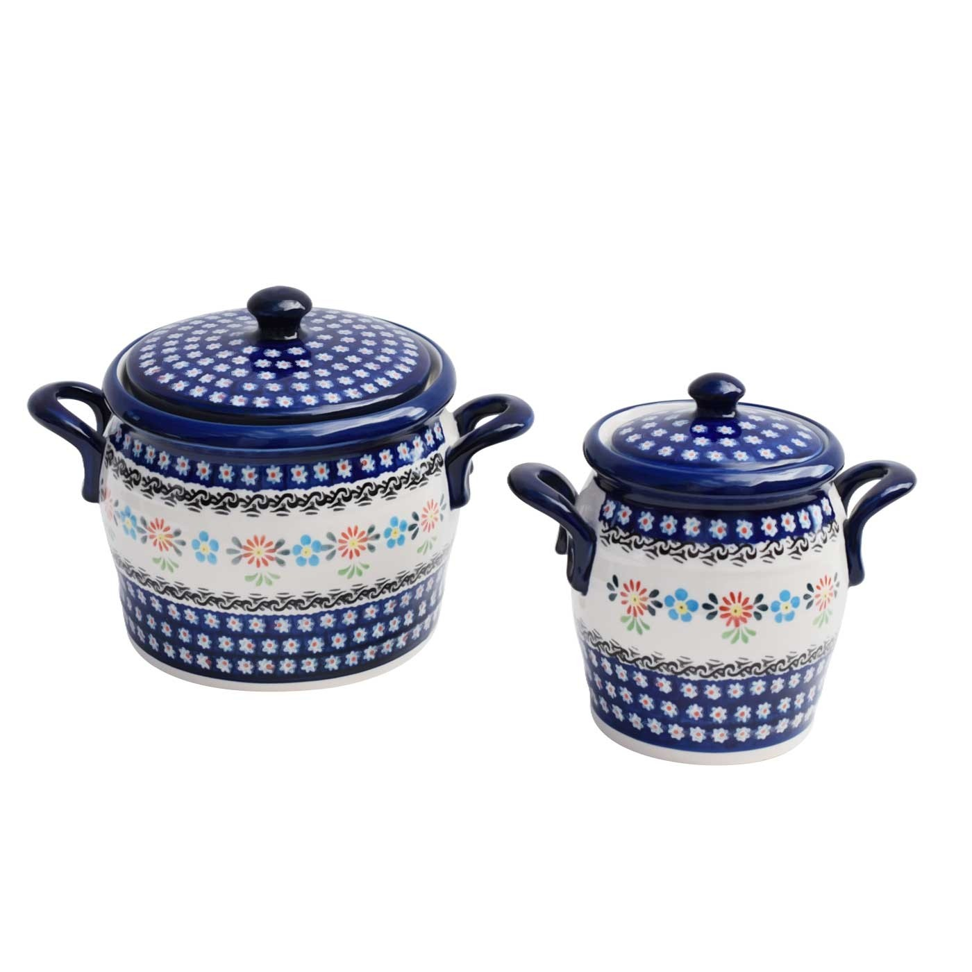 Pottery Avenue Canister Set Heritage Home