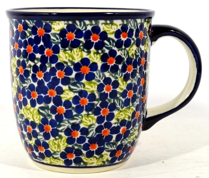 Polish Pottery FRIENDSHIP 12-oz Stoneware Mug | ARTISAN