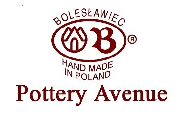 Polish Pottery HERITAGE Large Stoneware Cheese Lady   CLASSIC