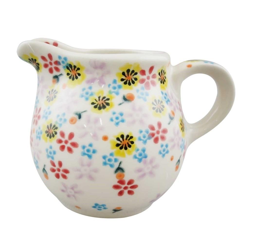Pottery Avenue 6-oz Stoneware Kubus Milk-Creamer Jug - V082-C115 HARMONIOUS