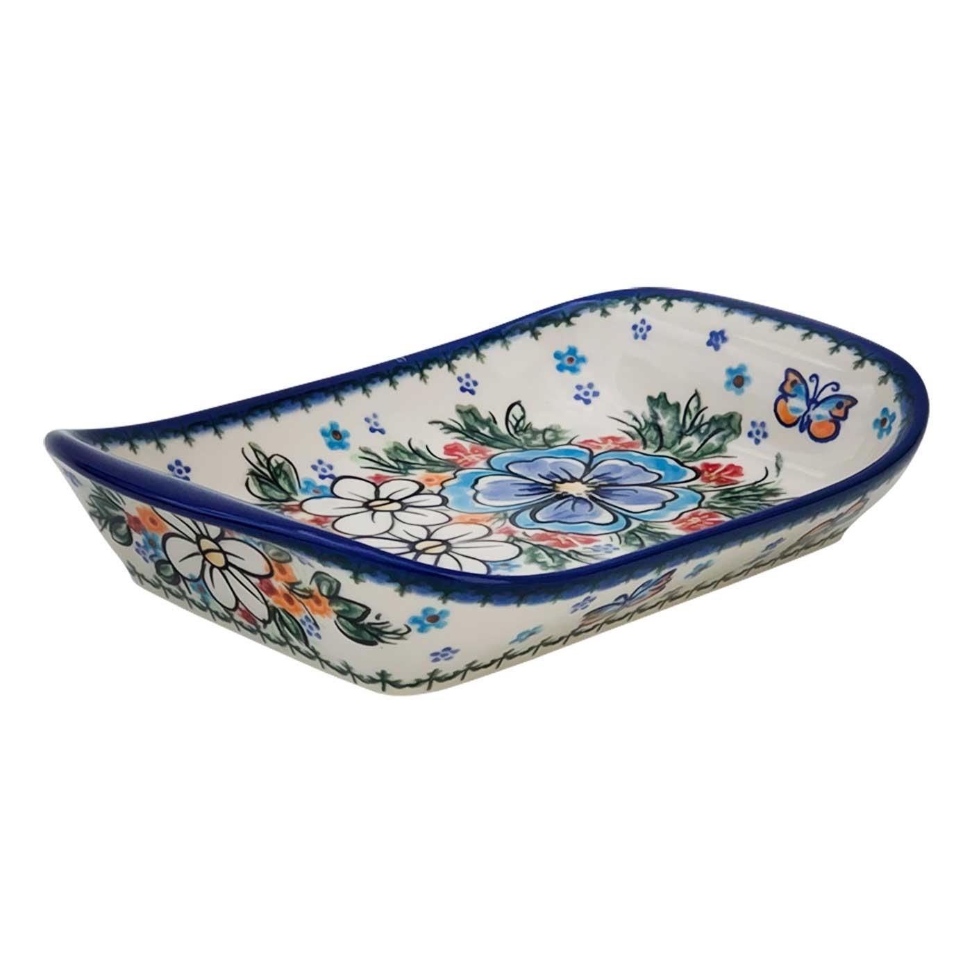 Pottery Avenue Stoneware Flared Dish - V107-A300 ADORABLE