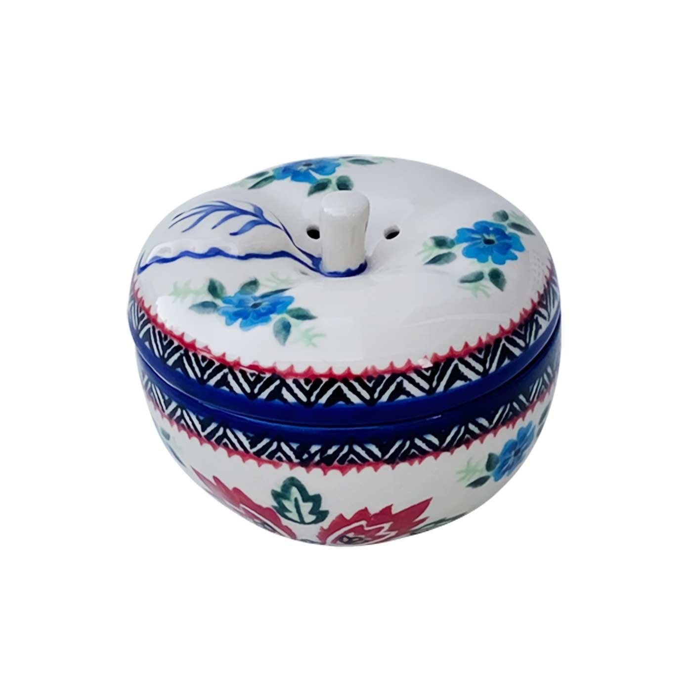 Pottery Avenue Stoneware Apple Baker - V410-A280 FOLK UNIKAT