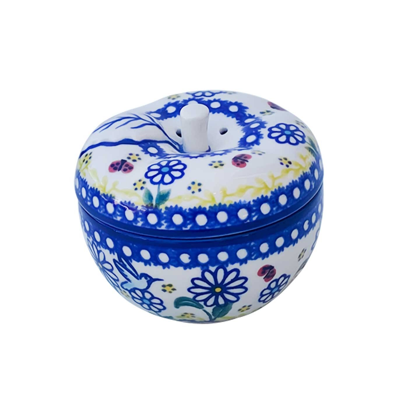 Pottery Avenue Stoneware Apple Baker - V410-U464 WINSOME