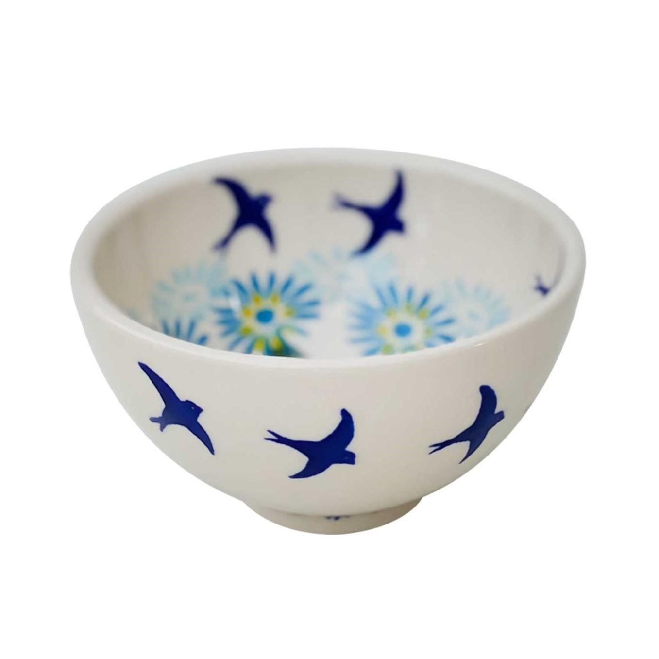 Pottery Avenue Vena 5-oz Stoneware Rice Bowl - V474-C093 SOARING