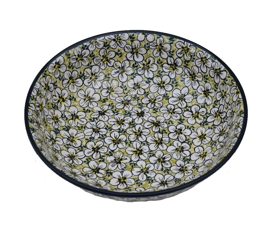 "Pottery Avenue Bacopa 10"" All Purpose Stoneware Bowl  - 1013-328AR"