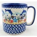 Pottery Avenue 12-oz Mug | VENA DOLPHIN