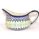 Polish Pottery 2 Cup FANFAIR Gravy Boat | CLASSIC
