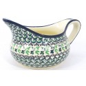 Polish Pottery 2 Cup IVY Gravy Boat | CLASSIC