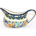 Polish Pottery BLISS 2-Cup Stoneware Gravy Boat | UNIKAT