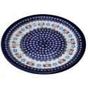 "Polish Pottery HERITAGE 11"" Stoneware Dinner Plate 