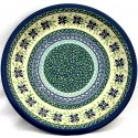 "Polish Pottery DEAREST FRIEND 11"" Stoneware Dinner Plate 