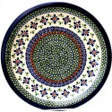 POLISH POTTERY STONEWARE SWEETIE PIE DINNER PLATE