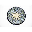 "Polish Pottery TRUE BLUES 11"" Stoneware Dinner Plate | ARTISAN"