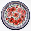 "Polish Pottery BELLISSIMA 11"" Stoneware Dinner Plate | EX-UNIKAT"