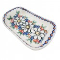 Polish Pottery REJUVENATE Stoneware Flared Dish | A-UNIKAT