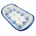 Polish Pottery STAR GAZER Stoneware Flared Dish | CLASSIC