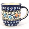 Polish Pottery HERITAGE HOME 12-oz Stoneware Mug | CLASSIC