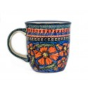 POLISH POTTERY STONEWARE MUG | CHERISHED FRIENDS
