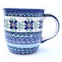Polish Pottery 12-oz DEAREST FRIENDS Coffee Mug | ARTISAN