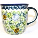 Polish Pottery 12-oz PINECONE Coffee Mug | ARTISAN