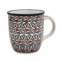 Polish Pottery COLOR ME LOVE 12-oz Stoneware Coffee, Tea, Cocoa Mug   ARTISAN