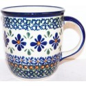 POLISH POTTERY STONEWARE MUG |  SWEETIE PIE