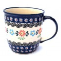 Polish Pottery 12-oz HERITAGE Coffee Mug | CLASSIC