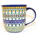 Polish Pottery ENCHANTING 12-oz Stoneware Mug | ARTISAN