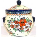 Polish Pottery EMPRESS 7.6-Cup Stoneware Canister | UNIKAT