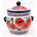 Polish Pottery BELLISSIMA 7.6-Cup Stoneware Canisters | EX-UNIKAT