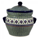Polish Pottery SEETIE PIE 16-Cup Stoneware Canister | ARTISAN