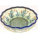 Pottery Avenue SEA GARDEN Scalloped Stoneware Serving Bowl | ARTISAN