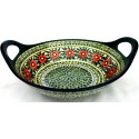"Pottery Avenue 13"" PASSION Baker Bowl With Handle 