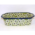 Polish Pottery 5 Cup BACOPA Stoneware Loaf Pan | UNIKAT