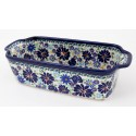 Polish Pottery 5 Cup 4TH OF JULY Stoneware Loaf Pan | ARTISAN