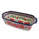Polish Pottery BELLISSIMA 5-Cup Stoneware Loaf Dish | EX-UNIKAT