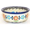 "Polish Pottery HERITAGE 3"" Stoneware Bowl   CLASSIC"