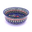 Polish Pottery CHERISHED FRIENDS Small Stoneware Bowl | UNIKAT