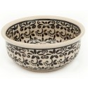 Polish Pottery ELEGANT TIMES Small Stoneware Bowl | CLASSIC