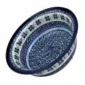 Polish Pottery DEAREST FRIEND 61-oz Flared Top Stoneware Bowl | ARTISAN