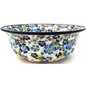 "Pottery Avenue 10"" TRUE BLUES Stoneware Serving Bowls 