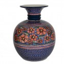 Polish Pottery CHERISHED FRIENDS Designer Stoneware Vase | UNIKAT