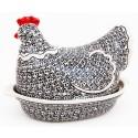 Polish Stoneware Hen Casserole | Elegant Times | Classic