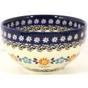 "Polish Pottery HERITAGE 4.5"" Rice Stoneware Bowl | CLASSIC"