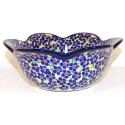 Polish Pottery FREINDSHIP Tulip Serving Stoneware Bowl | ARTISAN